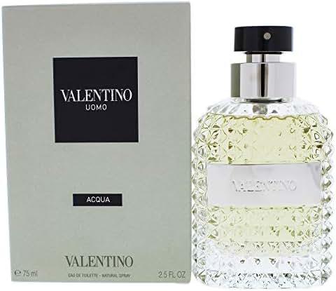 Valentino Uomo Acqua for Men Eau De Toilette Spray 75 ml/ 2.5 Ounce