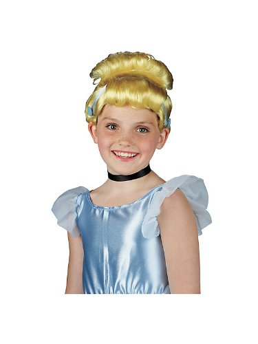 Flame Princess Costume Ideas (Cinderella Dress-Up Wig Costume Accessory)