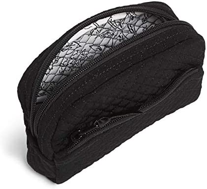 Vera Bradley Microfiber Mini Cosmetic Makeup Organizer Bag