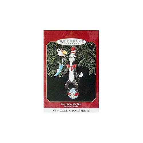 Hallmark 1999 Ornament The Cat in The Hat # 1 Dr. Seuss Ornament -