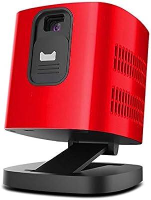 Mankvis Proyector Micro, m200 portátil pequeño proyector de Pared ...