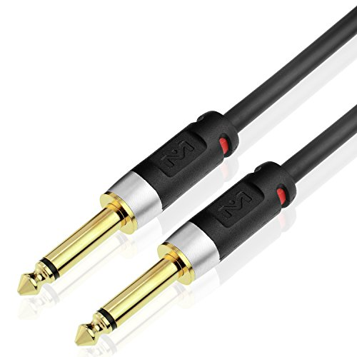 Mediabridge Ultra Series Guitar Instrument Cable (25 Feet) - 1/4 Inch to 1/4 Inch (Part# MC-14S-25 )