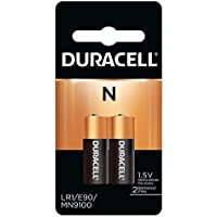 Duracell MN9100B2PK Alkaline Medical Battery, Size N (2 Batteries)