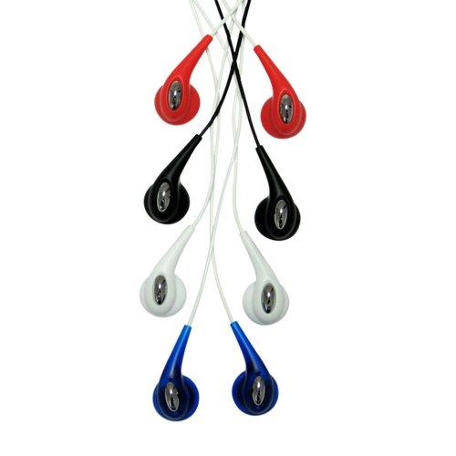 CTA Digital 4 Pack Gellybean Earbuds