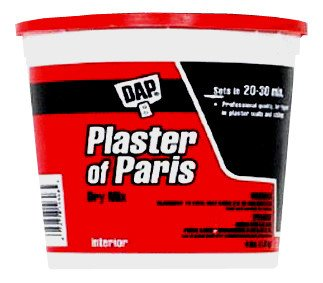 6 Pack Dap 10308 Plaster of Paris (Dry Mix) 4-lb Tub