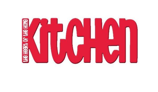 Splosh palabras magnéticas del imán del refrigerador de~~cocina ...