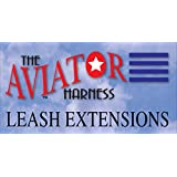 The Aviator Bird Harness Leash Extension: 10 ft/3 m for Petite and X-Small Aviator Harness