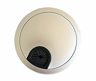 Attirant Do4U 50mm /1.96u0026quot; Computer Desk Table Round Grommet Cable Cord Port Wire  Hole Cover