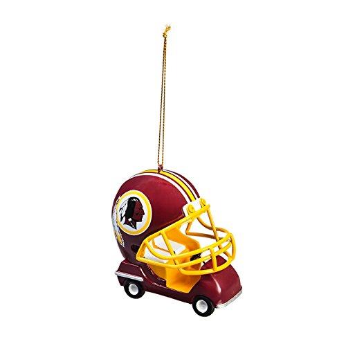 Team Sports America Washington Redskins Vintage Field Cart Team Ornament, Set of 4