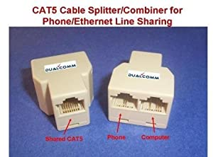Amazon.com: RJ45 / RJ11 Cable Sharing Kit
