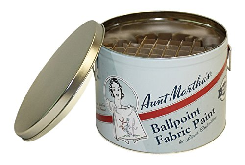 Aunt Martha's Ballpoint Paint Storage Color Caddie, Empty ()
