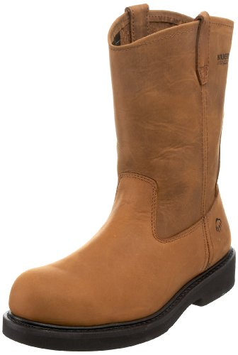 Wolverine Men's Ingham W06683 Work Steel toe Boot,Dark Brown,11.5 XW (Wolverine Durashock Insoles)