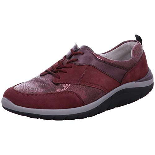 Bordeaux Stringate Scarpe Donna Waldläufer Waldläufer Bordeaux Stringate Donna Waldläufer Scarpe 7RWawqPaH