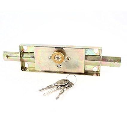 Cerradura de la puerta del almacén cubierto Seguridad de bloqueo del balanceo Puerta w 3 claves