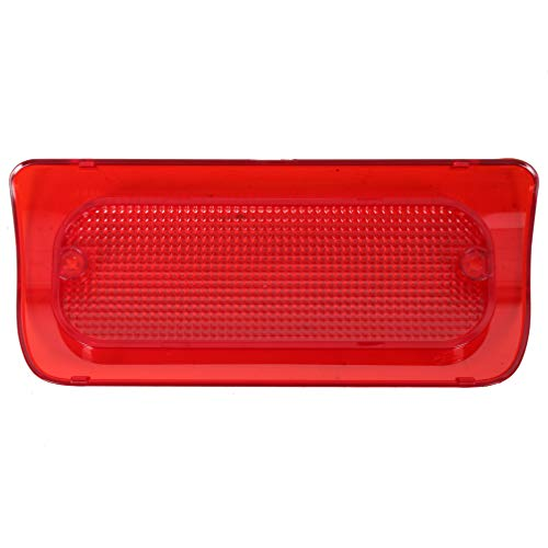 3rd Brake Light Lens Cover Red Mounted Stop Lamp For Crew Cab/Extended Cab Fit 94-04 Chevrolet S10 GMC Sonoma Pickup (For Extended Cab)