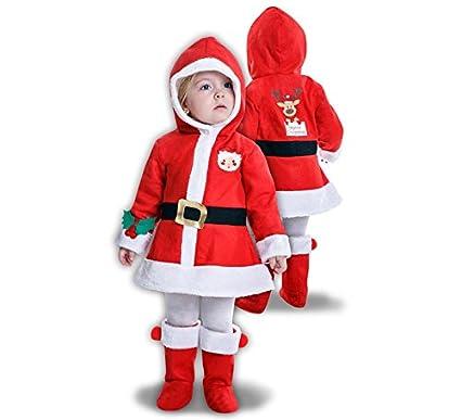 Disfraz de Mama Noel para niña