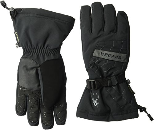Large OVERWEB X Gloves blk Spyder pol TEX Gore Men's 6x8xwqag