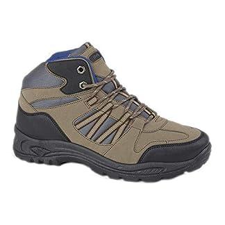 Dek Keswick Mens Lace Up Hiking Boots Taupe UK 10 8