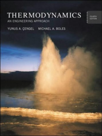 Read Online PROPERTY TABLES BOOKLET FOR USE WITH THERMODYNAMICS:  AN ENGINEERING APPROACH pdf