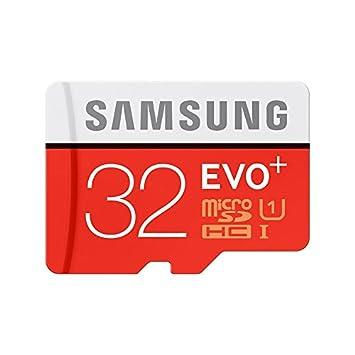 Samsung EVO+ EVO Plus Tarjeta de memoria micro SD SDHC de 32GB ...