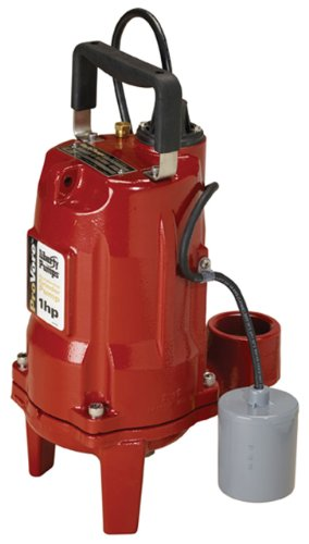 Liberty Pumps PRG102A ProVore PRG Series Automatic Residential Grinder Pump, 1  HP, 230-volt