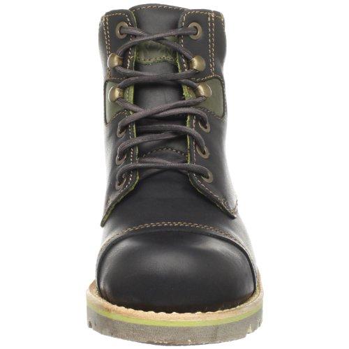 El Naturalista Womens N800 Taiga Ankle Boot Black/Olive qw9NMcxex