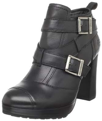 Harley-Davidson Women's Samantha Motorcyle Boot,Black,7.5 M US