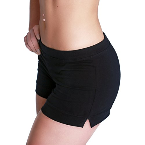 Shepa Damen kurze Fitness Shorts Hot Pants Hose (L)