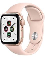 2020 AppleWatchSE (GPS) • 40mm aluminiumboett guld • sportband sandrosa