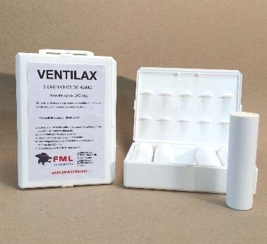 HUMO BLANCO ESTÁNDAR VENTILAX (caja con 5 cartuchos). ENVÍO GRATIS por la compra de 2 o mas artículos de humo técnico de nuestro catálogo.