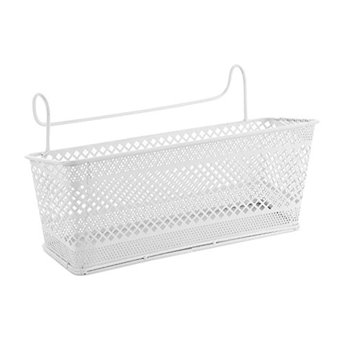 Bunk Bed Basket Dormitory Bedside Loft Beds Hanging Baskets Organizer Caddy by YAHUIPEIUS (White) by YAHUIPEIUS