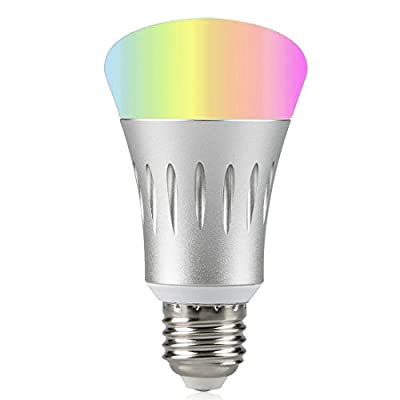 Wi-Fi Smart LED Light Bulb, Dimmable 60W Equivalent