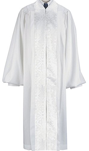 (White Pulpit/Pastor Robe (Large 57))