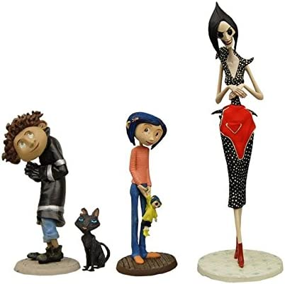 Amazon Com Coraline Best Of Pvc Figure Set Toys Games