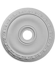 Ekena Millwork 20-Inch OD x 3 5/8-Inch ID x 1-Inch P Jackson Ceiling Medallion