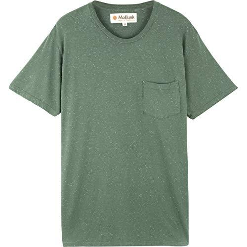 (Mollusk Hemp Pocket T-Shirt - Men's Faded Forest, XL)