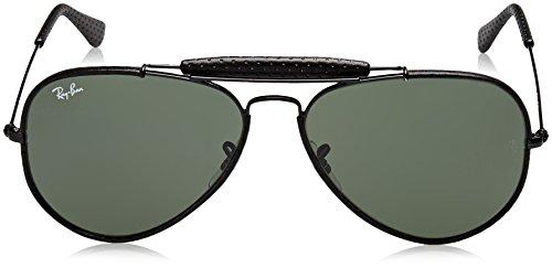Ray black rb Aviator 3422q ban Noir Sonnenbrille Craft qrqTB8O