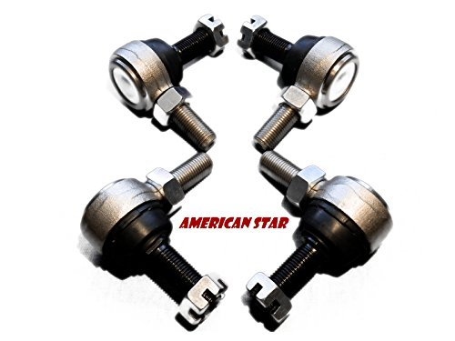 4 American Star 4130 Chromoly Racing UTV Tie Rod Ends - Fits Arctic Cat Wildcat 1000 (All Models) Replaces Part # 0505-811, 0505-812