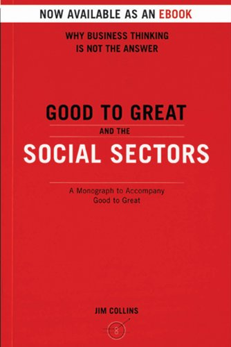 Amazon good to great and the social sectors a monograph to good to great and the social sectors a monograph to accompany good to great by fandeluxe Images