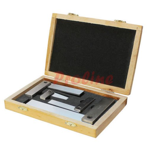4 PC Machinist Hardened Steel Square Set Include 2'', 3''...