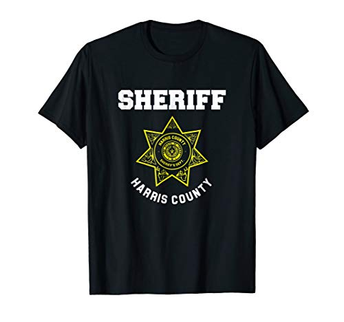Harris County Texas Sheriff Deputies Police Uniform T-Shirt ()