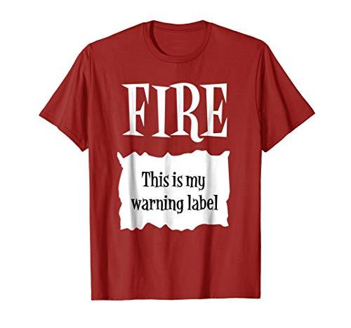FIRE - Hot Packet Halloween Taco Costume T-Shirt -