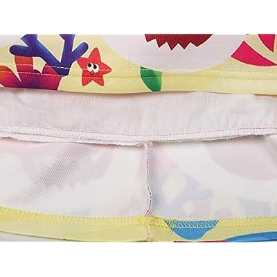 AOVCLKID Toddler Girls Baby Princess Dress up Shark Cartoon Print Party Gown Dress: Clothing