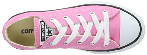 Converse Youth Chuck Taylor All Star Ox Canvas Trainers Rosa