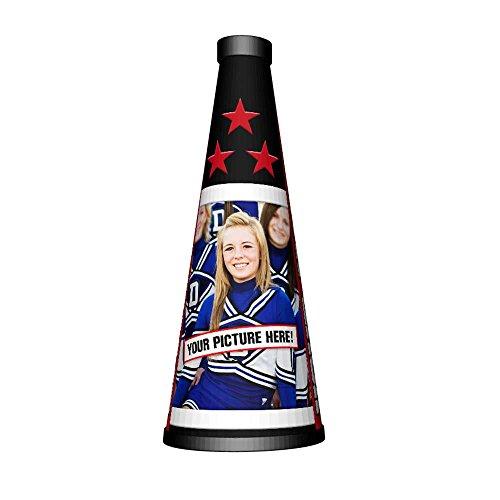 Custom Cheer Megaphone - Great Personalized PHOTO Cheerleading