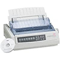 Oki 62411901 Microline 390 24-Pin Dot Matrix Turbo Printer
