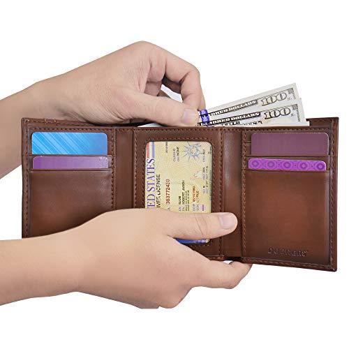 Dockers Men's Extra Capacity Trifold Wallet