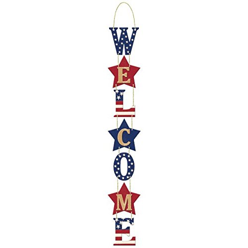 Americana Welcome Party Sign for front door