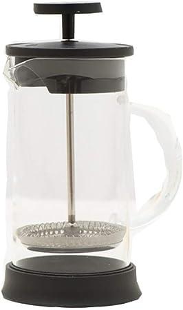 FYHKF Cafeteras de émbolo Cafetera Francesa de presión 350 ml PP Vidrio plástico Máquina de té Separador de Vino 8 * 17 cm, 350 ml: Amazon.es: Hogar