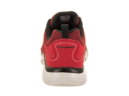 Skechers 52635 Rojo Agoura Black Burns rTwqCr